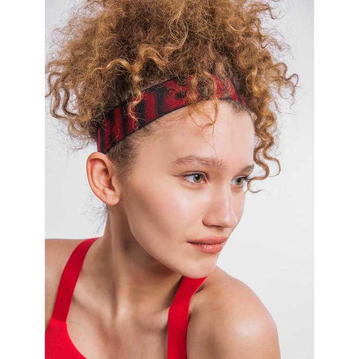 Повязка на голову женская, цвет графитовый, размер 57