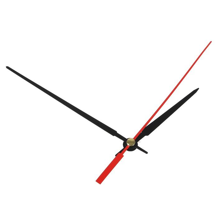 Комплект из 3-х стрелок для часов черные 65/108 (2046) (фасовка 100 наборов)