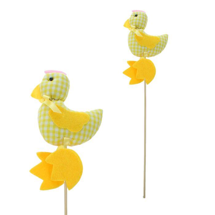 Мягкая игрушка «Петушок», на палочке, с бантиком