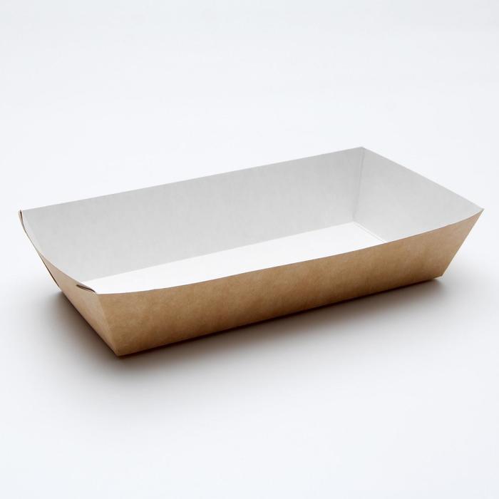 Упаковка для хот-догов, картофеля фри 22 х 11,5 х 4,2 см