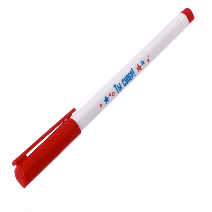 """Ручка пластиковая """"Ты супер"""""""