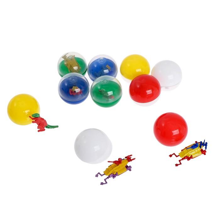 Набор игрушек в яйце «Нашествие монстров», набор из 10 яиц, 53 мм