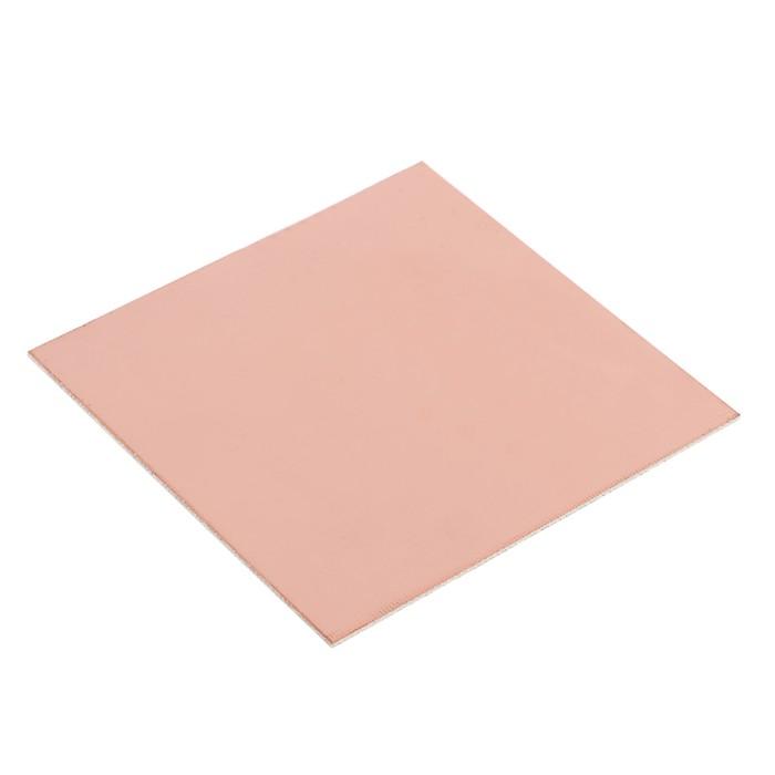 Стеклотекстолит REXANT, двухсторонний, 100х100х1.5 мм, 35 мкм