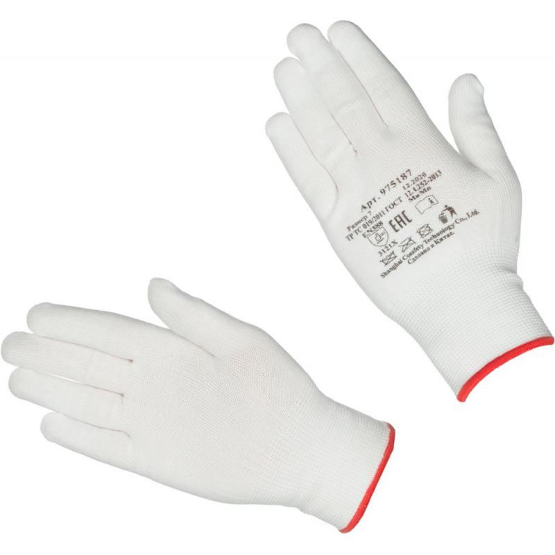 Перчатки защитные нейлоновые размер 7