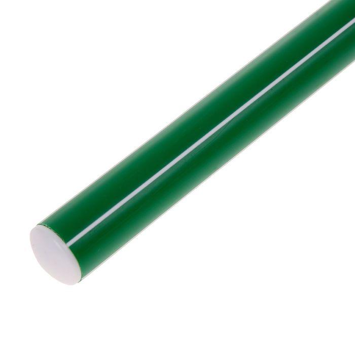 Палка гимнастическая 30 см, цвет: зеленый