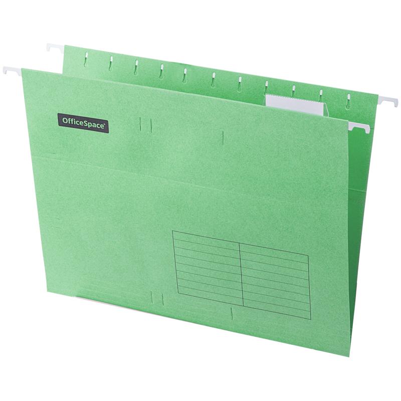 Подвесная папка OfficeSpace А4 (310*240мм), зеленая