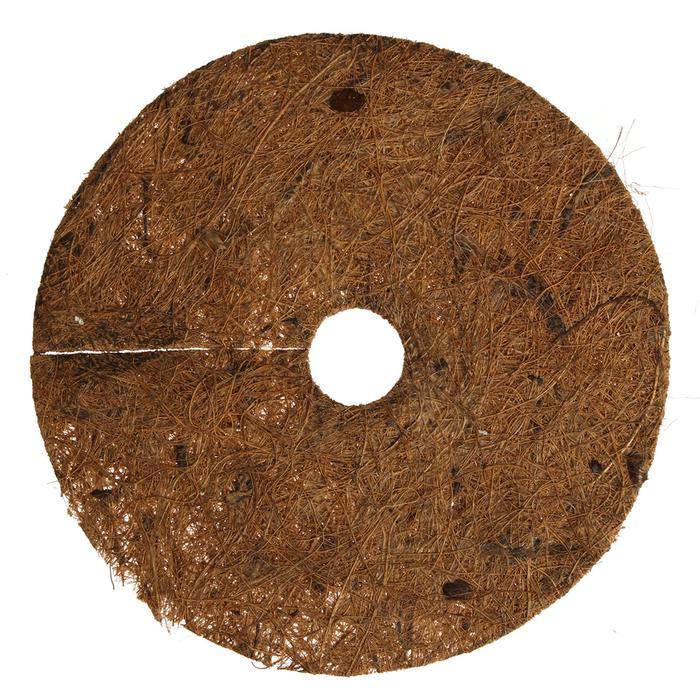 Круг приствольный, d = 17 см, из кокосового полотна с натуральным латексным клеем