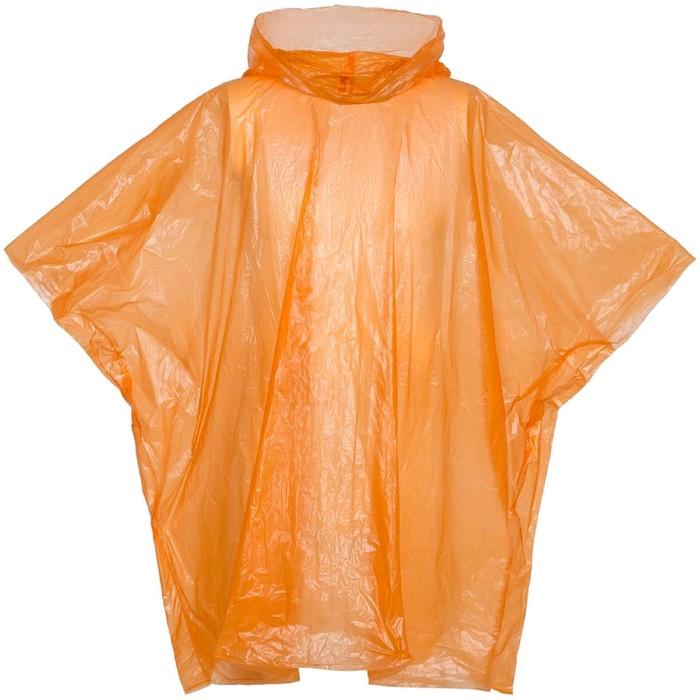 Дождевик-пончо RainProof, цвет оранжевый