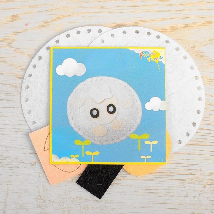 Набор для создания игрушки из фетра «Барашек», игла