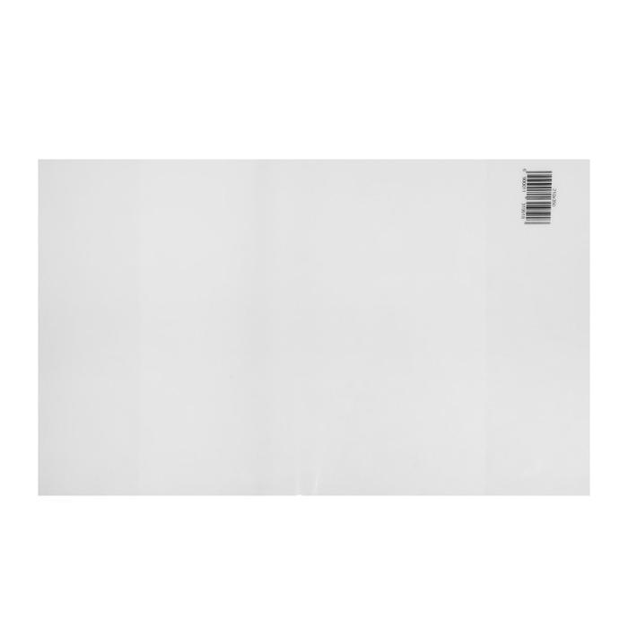 Обложка ПП 210 х 350 мм, 30 мкм, для тетрадей и дневников