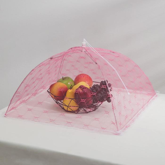 Сетка для продуктов защитная «Квадрат», 50?50 см, цвет МИКС
