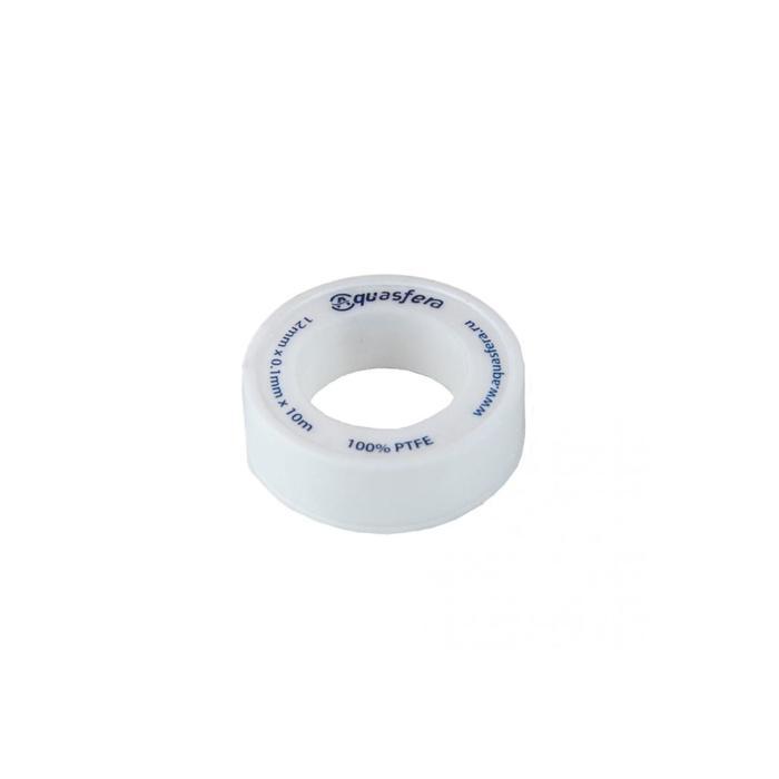 Лента ФУМ Aquasfera 6020-02, для воды, 12 мм х 0,1 мм х 10 м