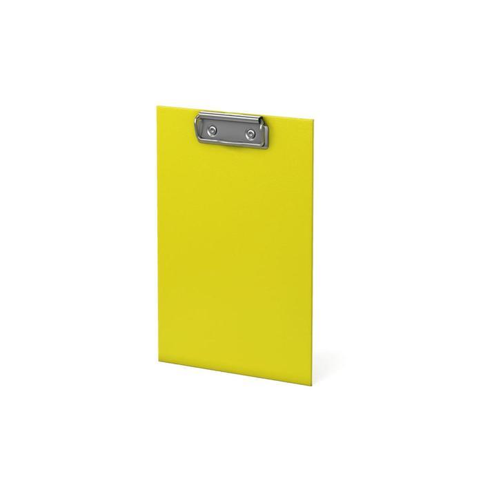 Планшет с зажимом А5 лам.кар ErichKrause Neon без подвеса, желтый 49442-1