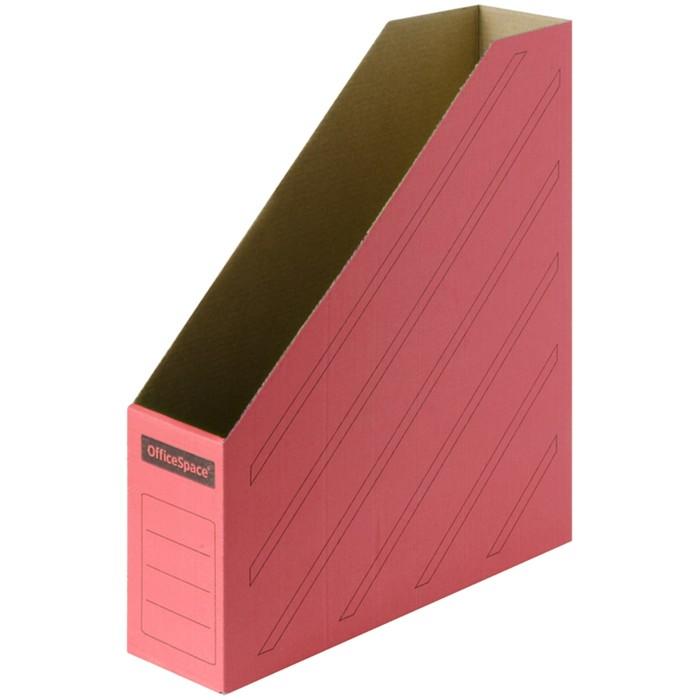 Накопитель архивный 75 мм, OfficeSpace, красный