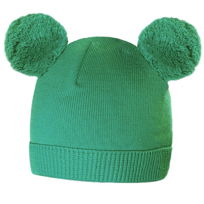 Шапка Funny, цвет зелёный
