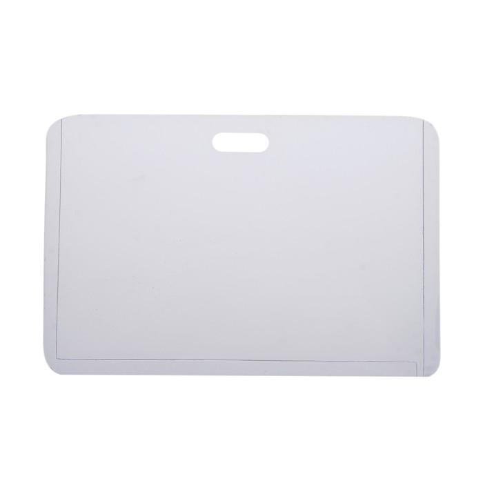 Бейдж-карман горизонтальный, (внешний 68 х 100 мм), внутренний 90 х 50 мм, 76 мкр