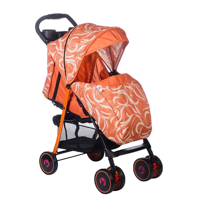 Коляска прогулочная Babyhit Simpy, цвет wavy orange