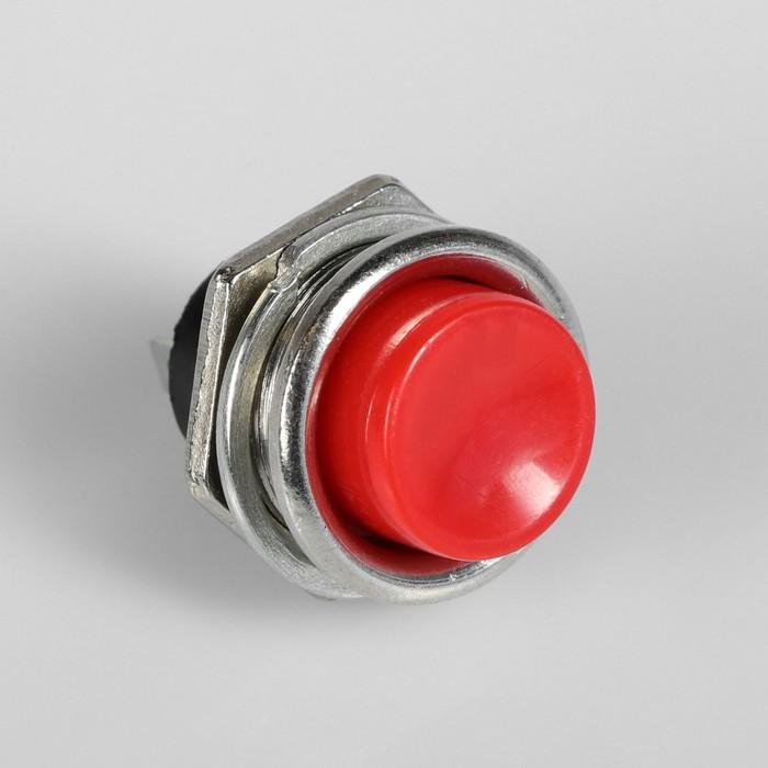 Выключатель кнопочный без подсветки, диаметр 21 мм, микс