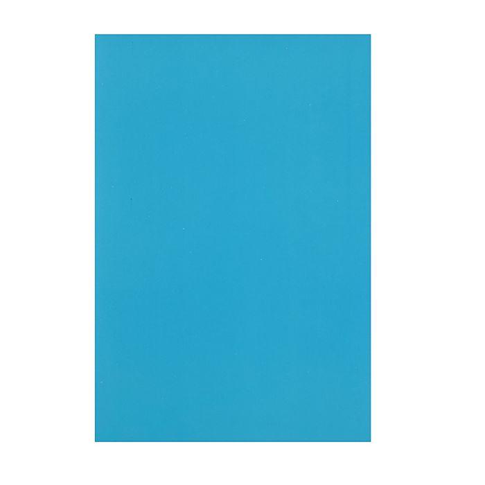 """Картон цветной А4, 240 г/м2 """"Нева"""" синий, мелованный"""