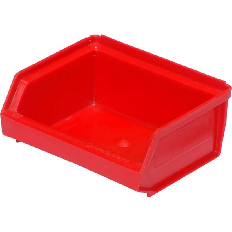 Лоток для склада 96 х 105 х 45 красный(7924), сплошной