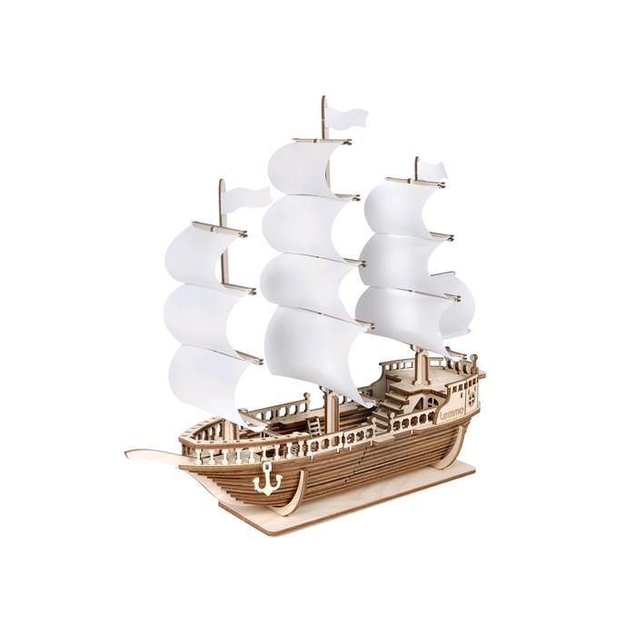 Деревянный конструктор «Корабль Ламар»