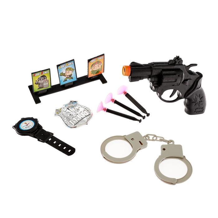 Набор полицейского «Тир», 8 предметов