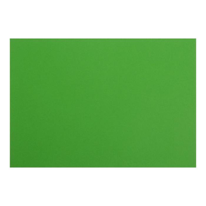 Картон цветной тонированный А4, 200 г/м2, зелёный
