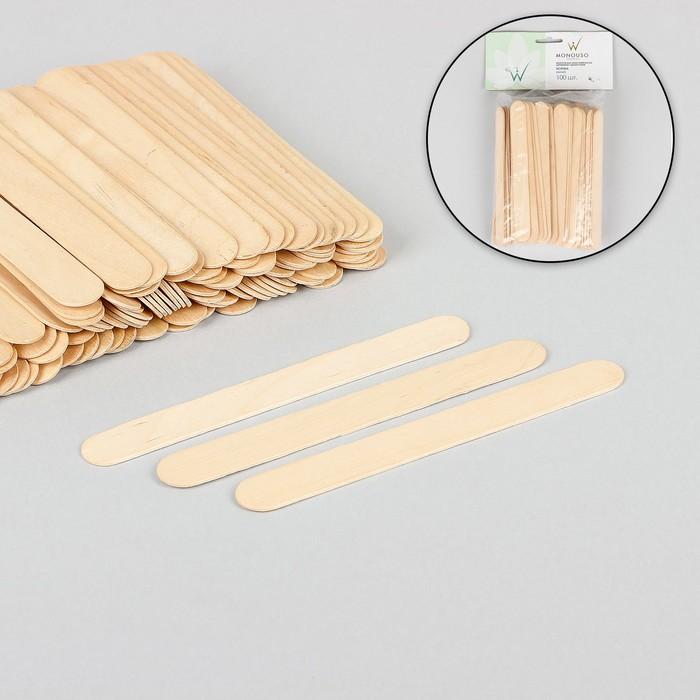 Шпатель для депиляции, деревянный, 15 ? 1,7 см