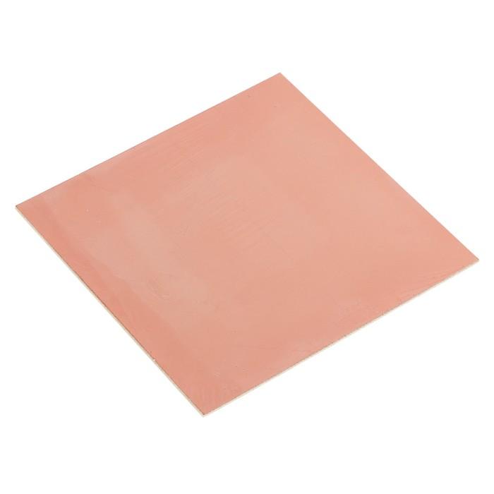 Стеклотекстолит REXANT, односторонний, 100х100х1.5 мм, 35 мкм