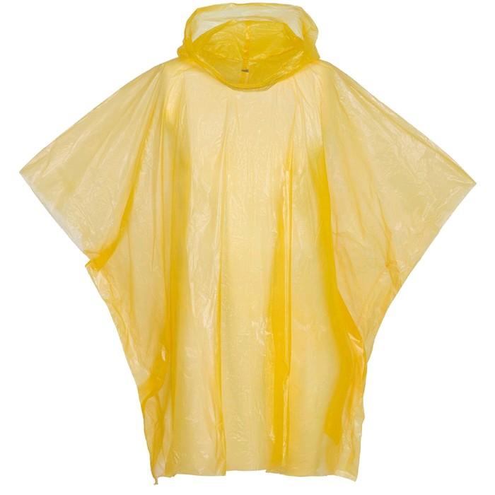 Дождевик-пончо RainProof, цвет жёлтый