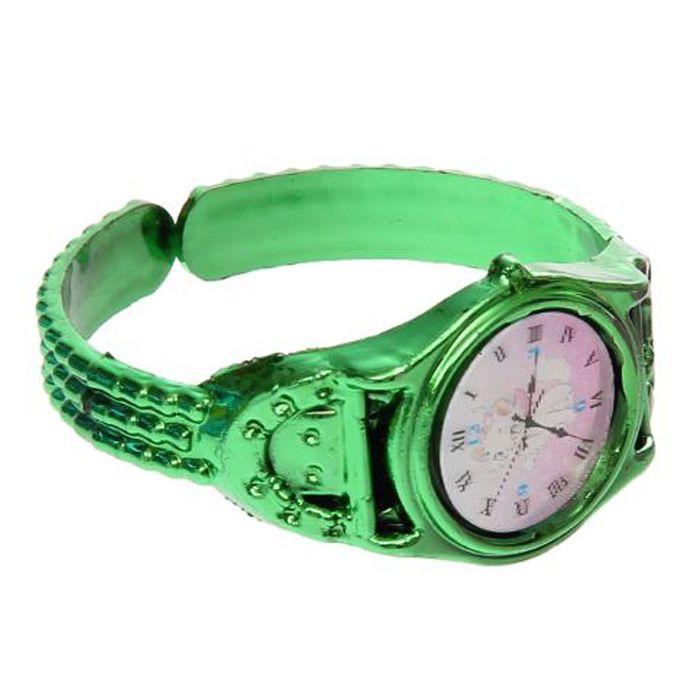 Карнавальный браслет «Часики», цвета МИКС