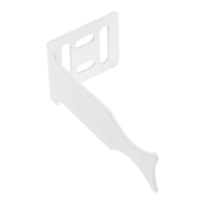 Кронштейн для радиатора MasterProf, угловой, универсальный, белый