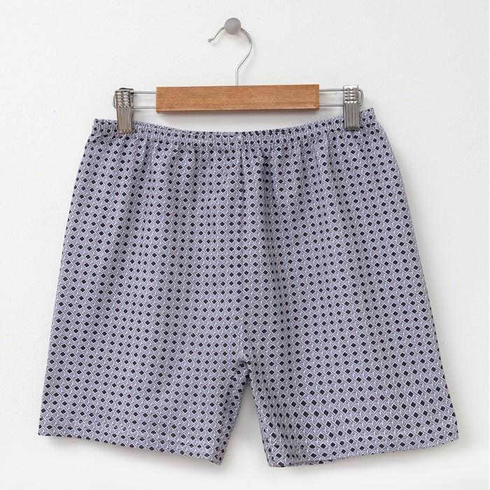 Трусы мужские шорты, цвет МИКС, размер 60-62
