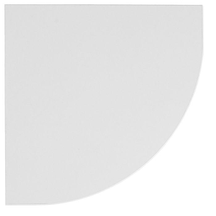 Полка сектор 250*250*16 мм Белый