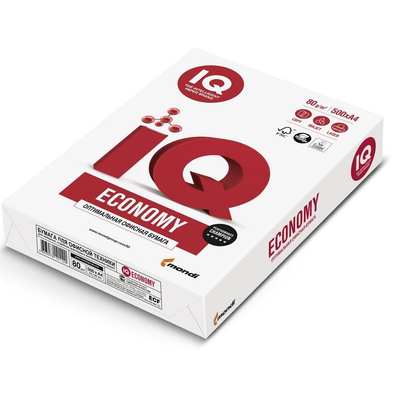 Бумага IQ Economy (А4, марка С, 80 г/кв.м, 500 л)