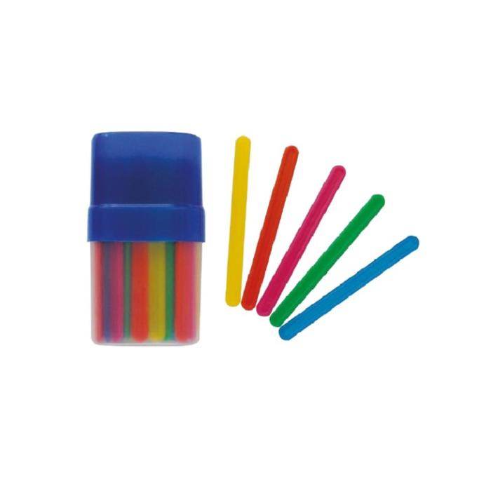 Счетные палочки 30 штук, микс, в пластиковом пенале