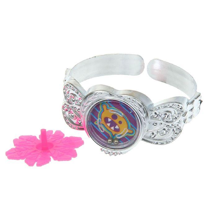 Карнавальный набор «Глазастик», 2 предмета: браслет, волчок, цвета МИКС