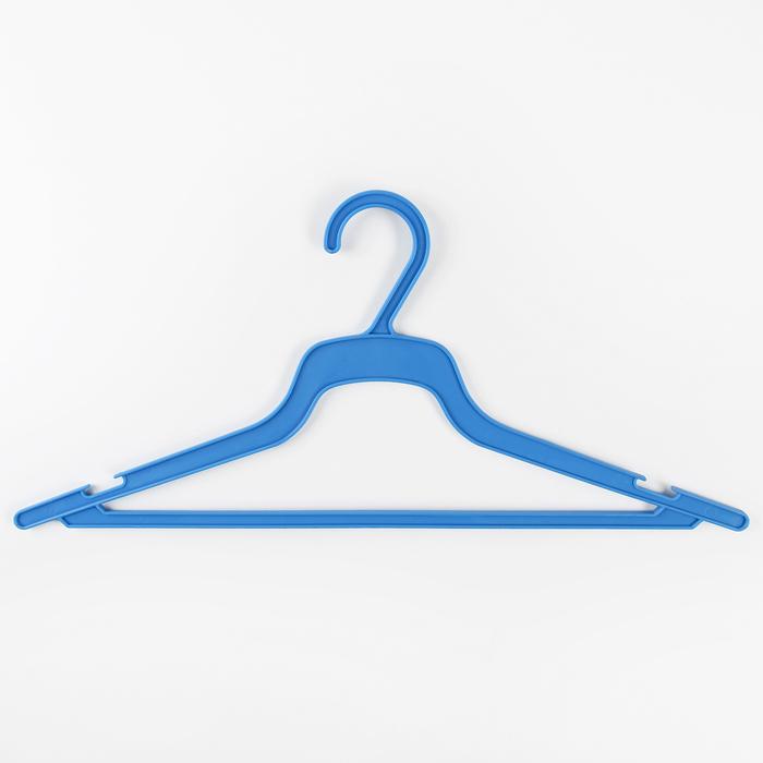 Вешалка-плечики для одежды, размер 48-50, цвет МИКС
