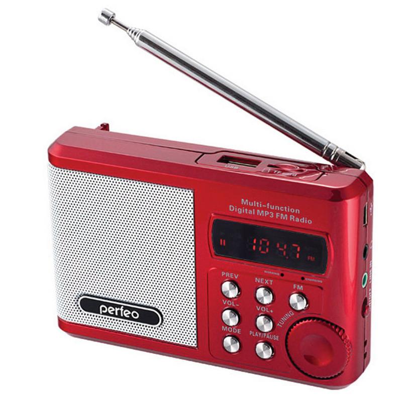 Радиоприемник Perfeo Sound Ranger (PF-SV922RED)