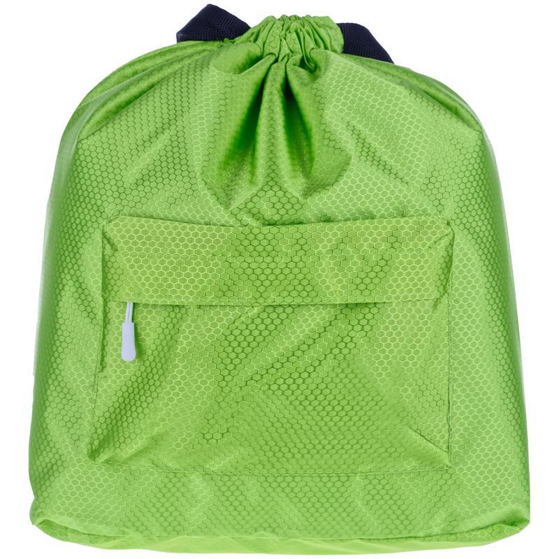Рюкзак-мешок ArtSpace, 41*44см, 1 отделение, 1 карман, зеленый