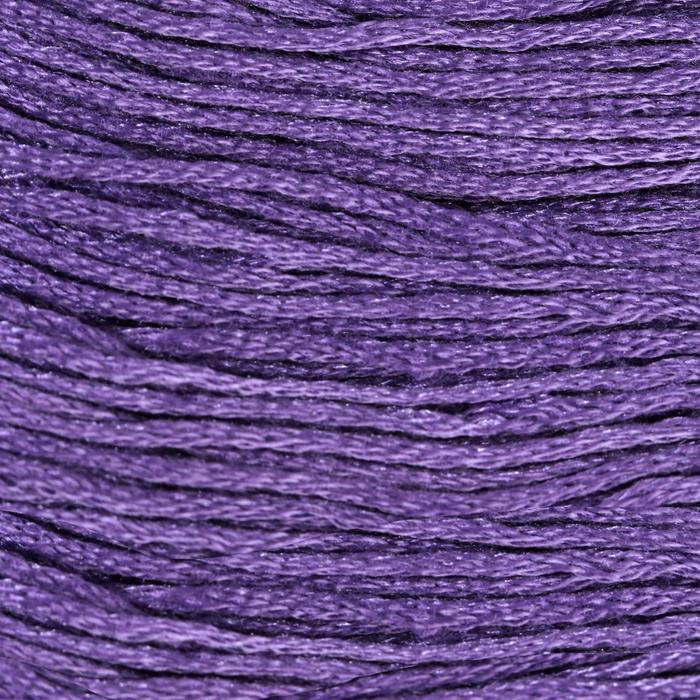 Нитки мулине, 8 ± 1 м, цвет тёмно-лиловый