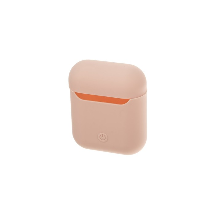 Чехол Silicon Case для AirPods, светло-розовый