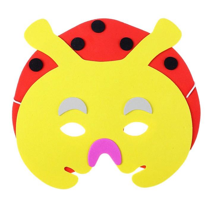 Карнавальная маска «Божья коровка»