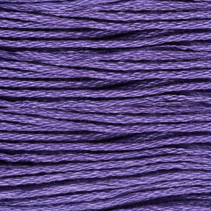 Нитки мулине, 8 ± 1 м, цвет ярко-фиолетовый №3746