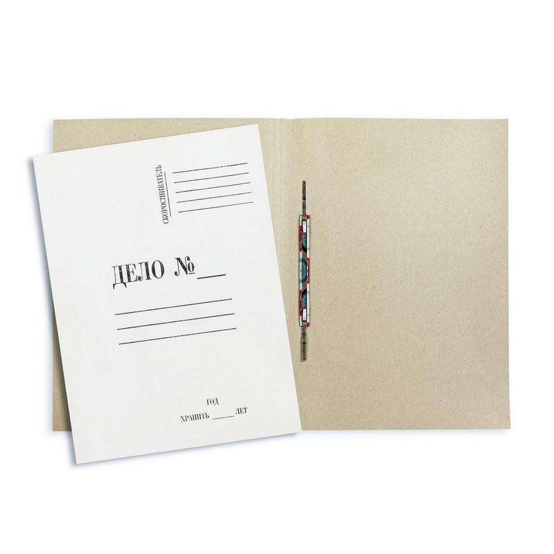Скоросшиватель картонный ДЕЛО 380г/м2 мелованная