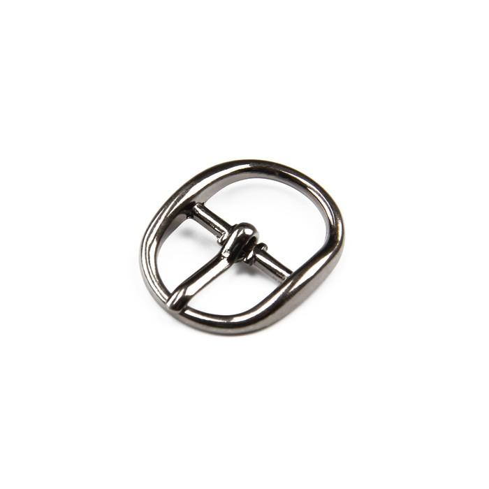 Пряжка для босоножек, 12 мм, цвет светлый никель