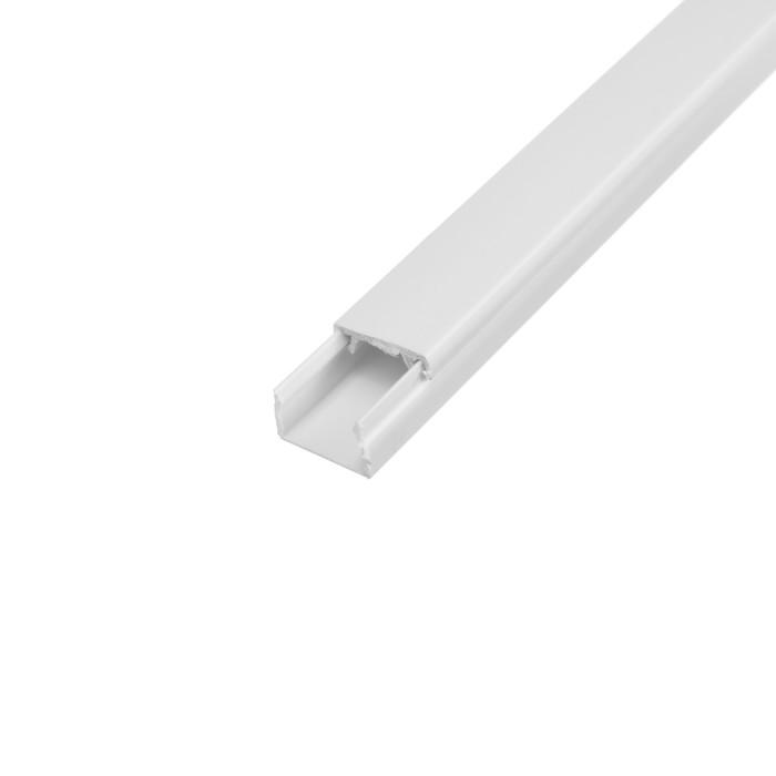 Кабель-канал EKF Basic, 2 м, 15х10 мм, белый