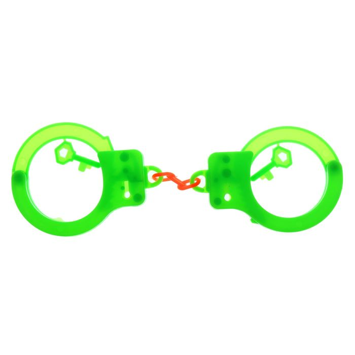 Наручники с ключами, цвета МИКС