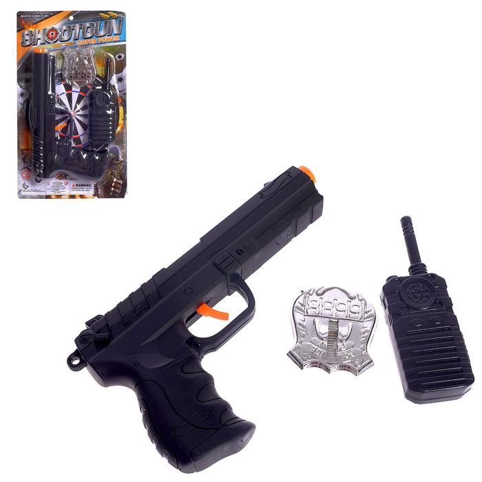 Набор полицейского «Рука правосудия», с пистолетом-трещоткой