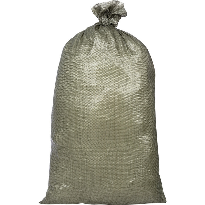 Мешок п/п строительный зеленый 95х55 (40 гр) 10шт/уп